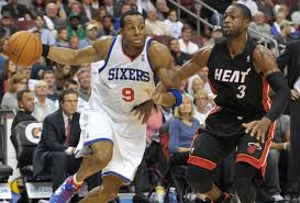 Andre Iguodala scored 10 points in loss to Dwayne Wade and the Miami Heat.