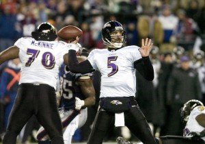 There are some NFL observers who believe that Baltimore Ravens quarterback Joe Flacco is a Super Bowl win a way from being one of the NFL's elite quarterbacks.