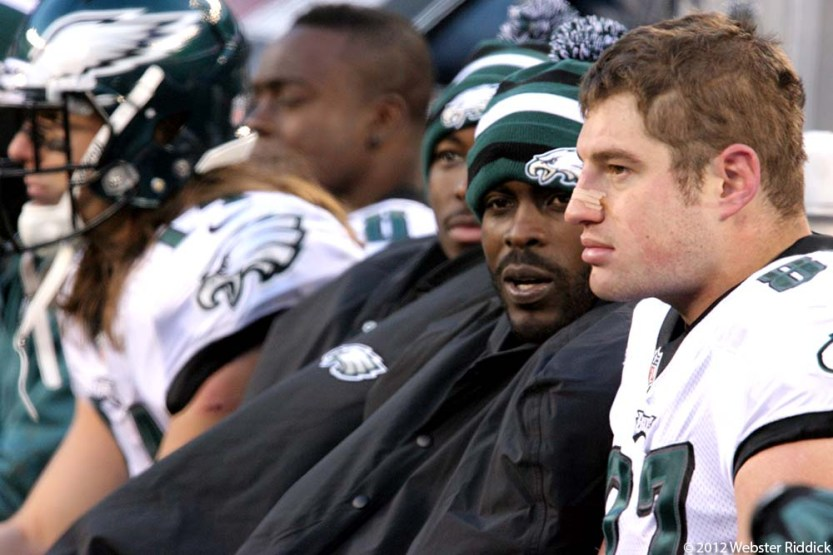 After former head coach Andy Reid was let go by the team, Eagles players pointed to their own lack of effort on the field as the reason their old mentor was fired.  Photo by Webster Riddick.