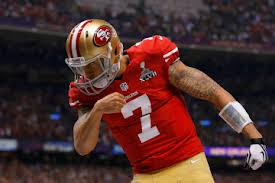 Colin Kaepernick scores on a 15-yard touchdown run to bring the 49ers to within two points of the Ravens.