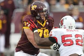 Several mock drafts have Central Michigan's  Eric Fisher going fourth to the Eagles.