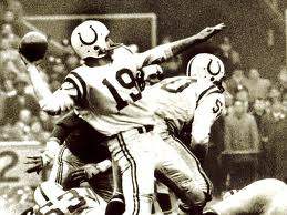 John Unitas was cut by the Steelers in 1955 and playing semi-pro before getting his opportunity in Baltimore.