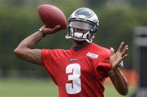 Eagles quarterback Dennis Dixon believes he can be the Eagles starting quarterback.