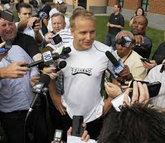 Matt Barkley tells reporters he believes that he can start for the Eagles in 2013.