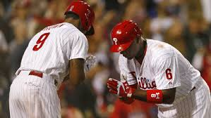 Dom Brown's post-home run celebration is apparently frowned upon by some scouts and some Phillies opponents.
