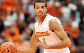 Sixers No.1 Draft choice Michael Carter-Wiilliams led Syracuse to the 2013 Final Four.