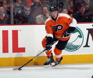 Matt Read put the Flyers on the period with an unassisted goal in the first period.