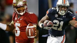 Florida State and Auburn will lock horns for the BCS National Championship next month in Pasadena.