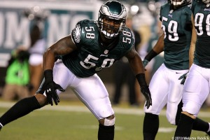 Eagles hope Trent Cole and the defense will be even stronger in 2014