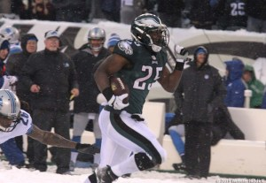 LeSean McCoy says the Eagles offense will be even in better in 2014.  Photo by Webster Riddick.