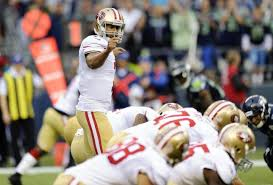 With a healthy Michael Crabtree along with tight end Vernon Davis and Anquan Boldin, 49ers might have it what it takes to win against a tough Seattle squad.  Photo by the Bleacherreport.com.