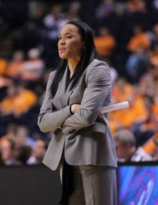 Hall-of-Fame head coach Dawn Staley has been a winner as a player and as a coach at both South Carolina and Temple.