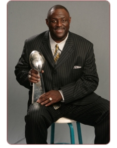 As a player, Leonard Marshall led the New York Giants to Super Bowl titles.  In retirement,  Marshall is helping his retired brethren to enjoy life after football. Photo submitted by Angela Crockett Enterprises, Inc.