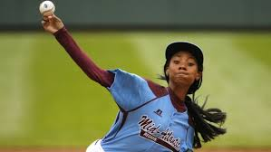 Mo'ne Davis' 70 mile-per-hour fast ball led the Taney Dragons of South Philadelphia to the Little League World Series.