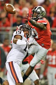 Ohio State lost at home to unranked Virginia Tech.  Along with losses by Michigan and Michigan State, the Big Ten's credibility as a power conference has been called into question by college football experts.