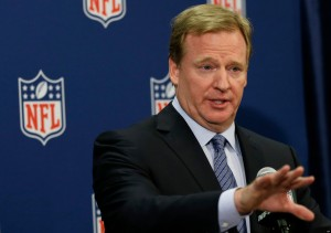 NFL Commissioner Roger Gooddell has been under fire for how the league has handled domestic violence incidents.