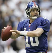 Eli Manning has had a passer rating 100 or better in three straight Giants wins.