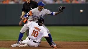 The Orioles and Royals will have plenty of run-ins like this during the 2014 ALCS.