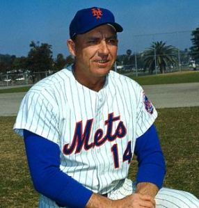 Gil Hodges let the New York Mets to a World Series title in 1969.