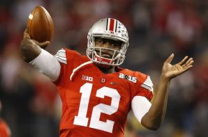 Playing in just his third game, Ohio State Cardale Jones led the Buckeyes to its first national championship since 2001.