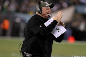 Eagles head coach Chip Kelly will lead the way in making personnel decisions for the Eagles. Photo by Webster Riddick.