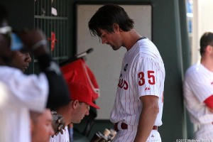 Cole Hamels gave up four solo runs in the Phillies 8-0 shutout loss in Monday's 2015 Season-Opener.