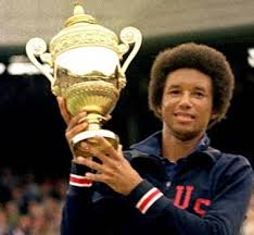Arthur Ashe was the first Black male tennis player to win a Wimbledon singles title.
