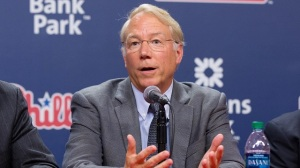 New Phillies Team President Andy MacPhail has the monumental task of making the Phils a contender again.