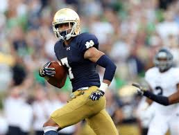 Notre Dame wide receiver and Philadelphia native Will Fuller has the attention of the Temple defense.